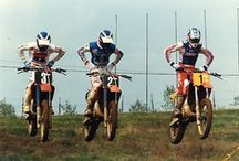 Motocross '70 - '80 Years / Misc. vintage motocross and supercross photos. These are some of the best racers the world has ever seen.  For the most part I feel this was the start of MX/SX here in the USA.  / by Helmet Man