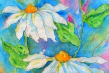 Watercolor art  and art inspiration / by Pat Hinch