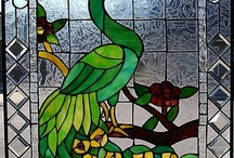 Stained glass art/windows / by Pat Hinch