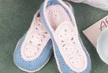 Crochet Slippers and Booties / by Marie Zimmy