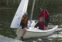 Learn To Sail - Toronto Island Sailing Club - TISC / Never set foot in a boat? No problem! (Already know how to sail? Then sail fast, race!)