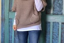 Dámská móda - knitted and crochet for women inspiration / by Háčkovné Výrobky VK