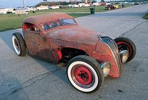 Rat Rods and Roadsters / Rat Hotrods,rust an important element / by Alan Paulson
