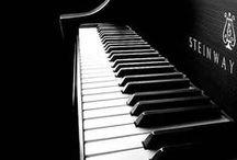 Piano room / by HelGa Hoorfar