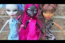 Monster High sewing patterns, crafts, party ideas / by Csilla Schuszterné Járai