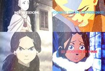Avatar the last airbender and legend of Korra / I love avatar the last airbender and legend of korra. However the first really is just incomparable but I still love both.  / by Blakeleigh Delgado