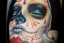 Day of the dead tattoo / by Robert Roosenburg
