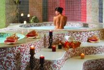 Luxurious♢Bathrooms / 7  pin  limit here. / by marie fricchione
