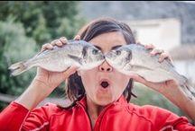 Con oLLos de peixe / by Chus Iglesias