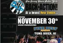 2013 Bout Posters / by Jersey Shore Roller Girls