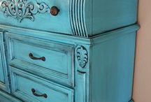 Furniture Distressing / by Jennifer Zahradnik-Call