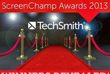 ScreenChamp Finalists: 2013 / The ScreenChamp Awards recognize excellence in screencasting. Here are the finalists in the 2013 competition.  / by TechSmith