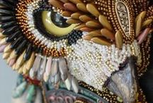 ★ Beads | Beadwork / Beadwork / by Hen3  ❥