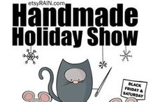 2013 Handmade Holiday Show / This year's show is shaping up to be the best ever!  Stay tuned as we add new vendors!   / by etsyRAIN Seattle