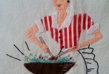 Vintage Tea Towels / by Heritage Fabrics