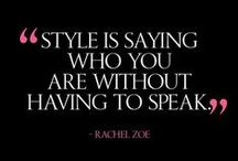 Style / by Rachael Gigar