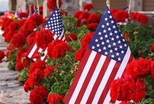 America - The Red, White and Blue / by Trudy Allen