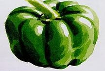 Art - Fruit and Veggies / by Trudy Allen
