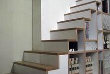 Stauraum unter der Treppe / Wie kann der Raum unter einer Treppe sinnvoll genutzt werden? / by Immonet