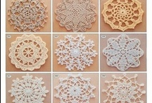 crochet motifs, blocks,borders,stitches / patterns and how to / by anz jansen van vuuren