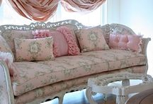 "Shabby Chic Decor / Shabby Chic Style made popular by Rachel Ashwell and her shops and many ""Shabby Chic"" books. My favorite decor style / by Nancy Thomas"