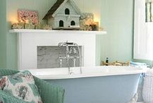 Inside Amazing Bathrooms and Laundry Rooms / by Michele Gallant