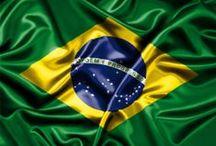 Brasil / Brasil ( 202.768.562 habitantes- IBGE 2014)    Cerrado - Pantanal - Praias - Favelas - Sertão - Amazônia - Chapada / by Jurema Rodrigues