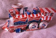 Soda can craft and art / by Lola Pitts