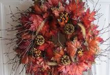 autumn wreaths / by Madeline Dillard