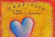 Gratitude / by Sarah Rudell Beach // Left Brain Buddha