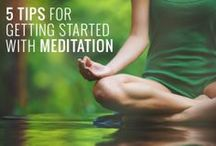 Starting a Meditation Practice / Advice for establishing a meditation practice, especially for the meditation-challenged! / by Sarah Rudell Beach // Left Brain Buddha