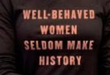 Women's History Month / A look at women throughout history. / by Undergrad Library