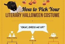 Literary Halloween Costumes /  The library is full of great Halloween costume ideas! Check out these literature-inspired costumes - then check out the books they came from to help explain your costume or just to revisit an old favorite. / by Undergrad Library