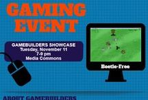 ACM GameBuilders Event / GameBuilders is a campus group dedicated to computer video development and education. Learn more about them here: www.acm.uiuc.edu/gamebuilders. Come check out the GameBuilders Showcase and play games at the UGL on Tuesday, November 11 from 7-9pm! / by Undergrad Library