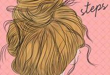 hair. / by Samantha Groth