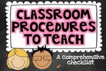 Classroom Procedures  / by CI 442 Murphy