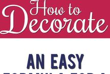 Decorate / Ideas and crafts to decorate the home / by Jennifer Sage