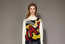 PREFALL 2012 ARCHIVE / Comic book graphics, sequin embroidery, utility lacing and fluid shapes.  / by 3.1 Phillip Lim