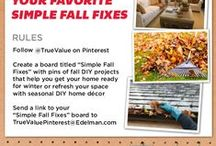 Simple Fall Fixes / Need some inspiration for fall decor and projects?  Find it here! / by gail wilson My REpurposed Life