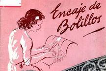 Bobbin lace - encaje de bolillos / by La madre gato