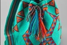 bags & boots  (turquoise, but spread to other colours) / I've been afflicted with shoe collection all my life, it has spread to purses, bags, luggage & wallets.  Kinda sad!  With pins I can admire without buying & save some, no lots of money! / by Kathy Piazza