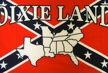 Southern born and bred. / American by birth.  Southern by the grace of God.  God bless Dixie. / by Savannah Lowell