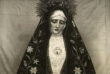 arte: la Virgen María / by Saudade Kavorka