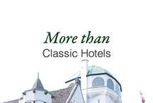 More than Classic Hotels / A selected list of our Classics, by Hampshire Hotels. / by Hampshire Hotels