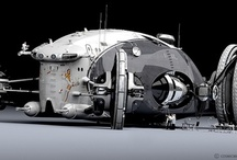 concept ships / concept ships / sci-fi  / by susi iglesias