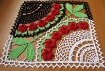 crochét / croches, e mais croches / by Rosangela Aparecida Soares