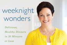 Weeknight Wonders | Ellie Krieger / Delicious, Healthy Dinners in 30 Minutes or Less. / by Houghton Mifflin Harcourt Cookbooks