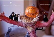 Wicked Awesome Miniature's / Miniature Witches, Wizards, Wicked, Haunted, Spooky, Halloween / by Enchantingly Wicked