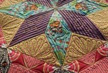 Machine quilting inspirations / Machine quilting inspirations:  designs from favorite longarm or domestic machine quilters / by Annabelle Hammer