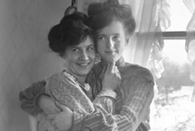 Vintage Lesbians / Looking at vintage lesbian photos is a humbling window into our history and an inspiring view of how far we've come and where we're going. / by Curve Magazine